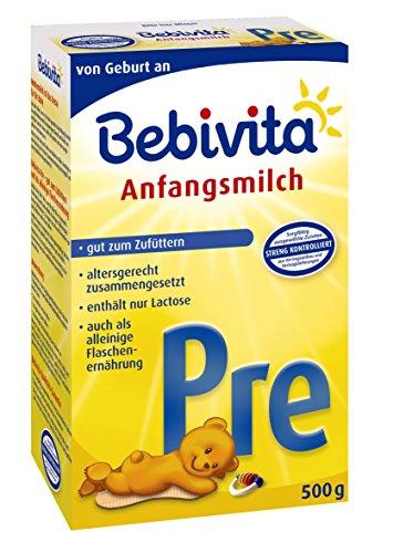 Bebivita PRE Anfangsmilch 500g, 4er Pack (4 x 500 g) - 1