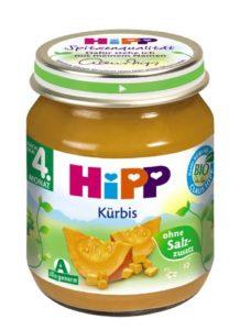 Hipp Kürbis, 6er Pack (6 x 125 g) - Bio - 1